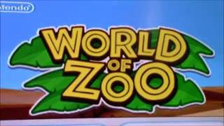 Nintendo Wii World of Zoo