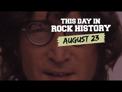 John Lennon Sees Something Amazing, Keith Moon Is Born - August 23 in Rock History