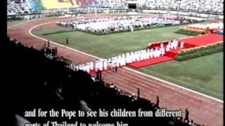 Pope visit Thailand 1