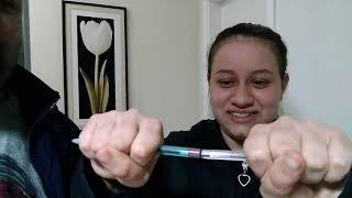 Brincadeira da caneta magnética