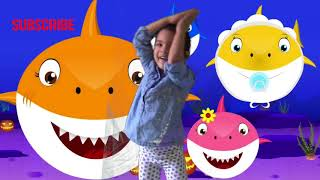 BabySharkChallenge Song |A 3 year old Little baby dancing and singing Baby shark |