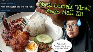 Nasi Lemak Food Court Aeon Mall Kota Bharu Kelantan