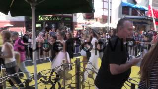 Kylie Jenner, Pia Mia Perez and Moises Arias depart the D...