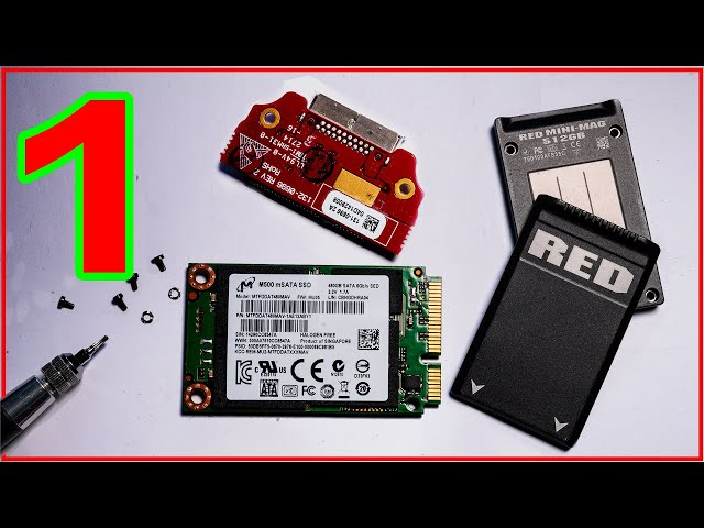 Part 1 - RED MINI-MAG - Things you only thought you knew. Inside view, and RED SSD firmware