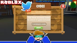 ALL WORKING LAUNCH CODES FOR POWER SIMULATOR! (Roblox)