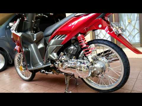 Vario Techno Silver Red Candy Tone Youtube