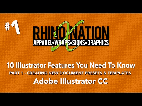 10 Illustrator Features You Need To Know #1