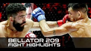 Bellator 209 Fight Highlights: Patricio Pitbull Bombs His Way to Bellator Record