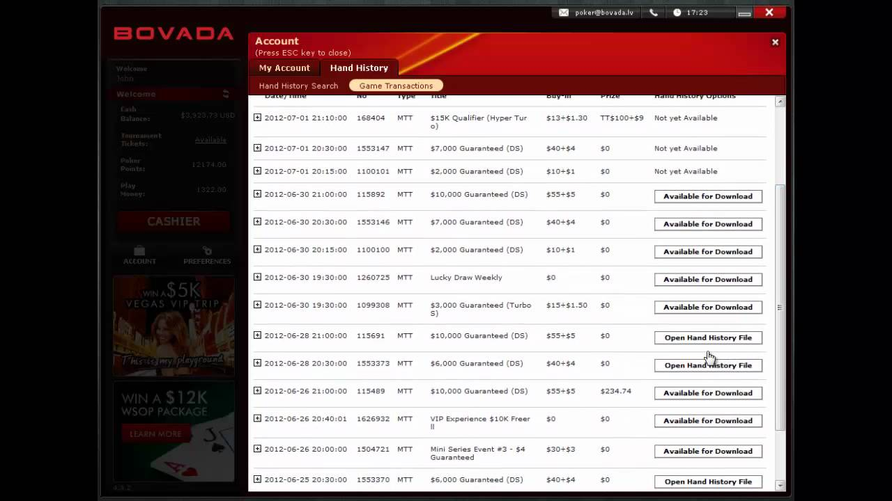 Unofficial Bodog/Bovada/Ignition Thread - Page 93 - Internet