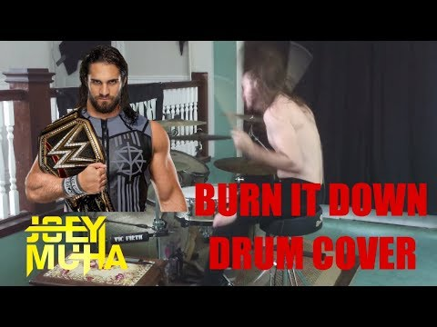 Seth Rollins Theme Song Drumming - JOEY MUHA