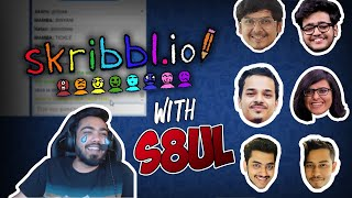 10 min of best funny highlights with S8UL and skribbl.io | 8bit MAMBA