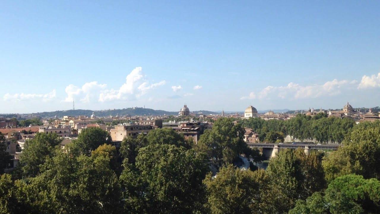 Roma view from giardino degli aranci youtube - Giardino degli aranci frattamaggiore ...