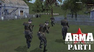 ARMA: Cold War Assault (Operation Flashpoint: Cold War Crisis) campaign. Part 1