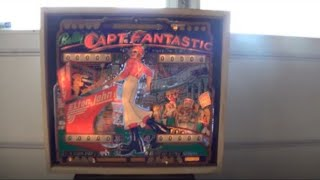 CAPTAIN FANTASTIC PINBALL MACHINE - BY BALLY