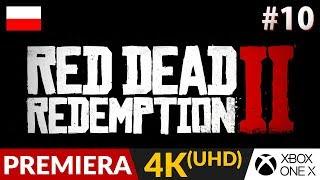 RED DEAD REDEMPTION 2 PL  #10 (odc.10)  Spokojna impreza i...poker! | Gameplay po polsku 4K