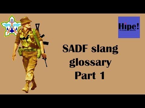 SADF Slang Glossary