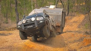 GALL BOYS - Testing the Hilux