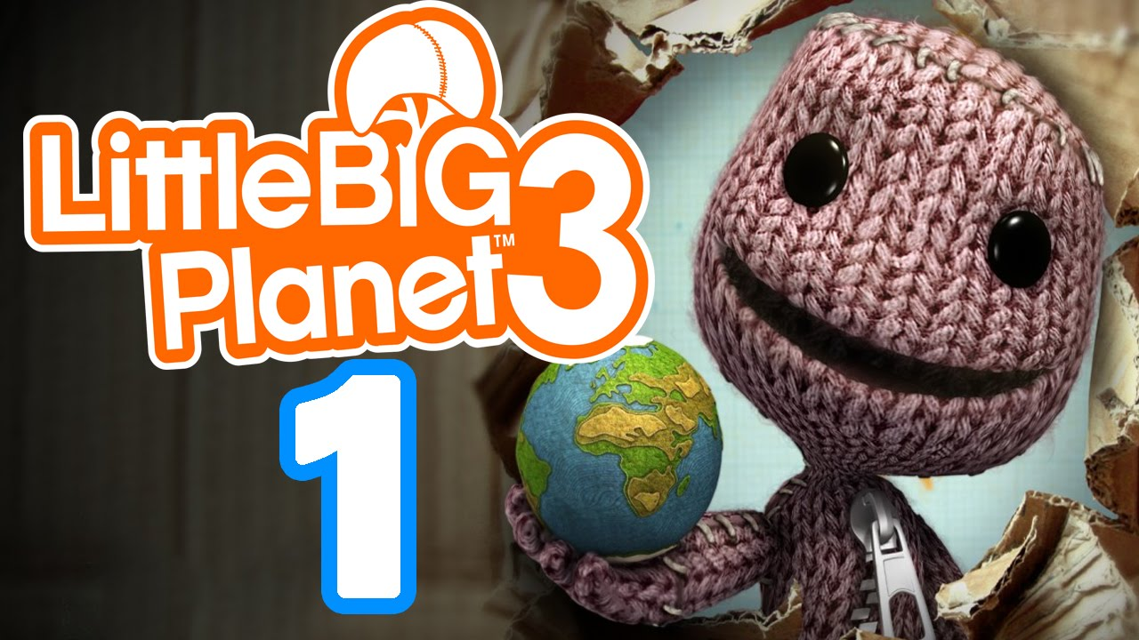 Let\'s Play LITTLE BIG PLANET 3 Part 1: Mit Sackboy & Newton auf ...