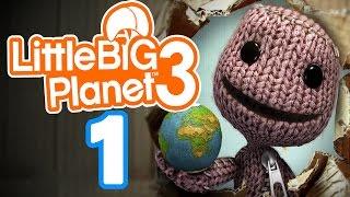 Let's Play LITTLE BIG PLANET 3 Part 1: Mit Sackboy & Newton auf fantastischer Mission