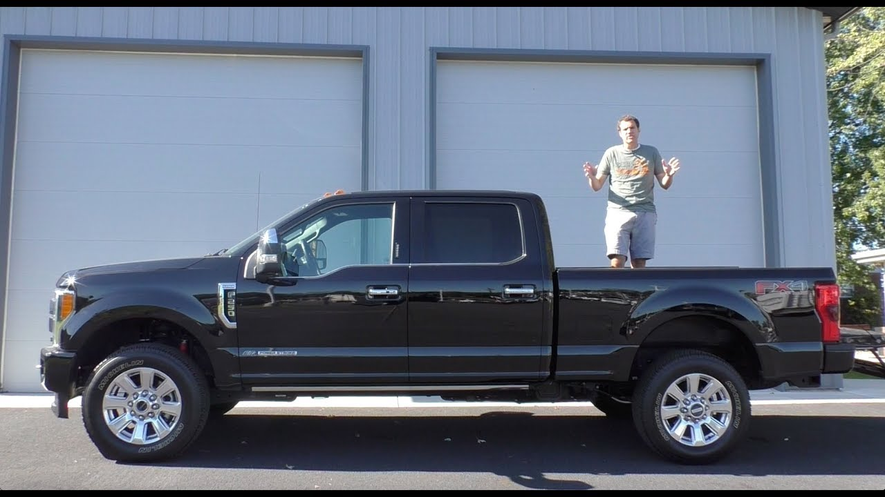 Here's a Tour of an $80,000 Ford F-250 Platinum Pickup Truck