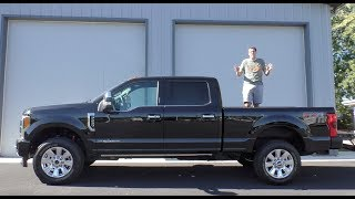 Here's a Tour of an ,000 Ford F-250 Platinum Pickup Truck