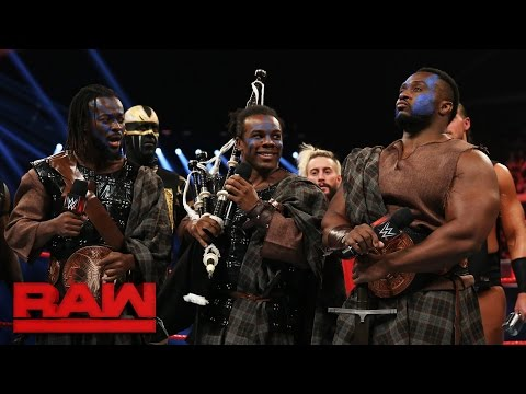 The New Day rallies their Survivor Series team: Raw, Nov. 7, 2016