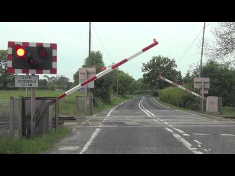 Yoxford Level Crossing