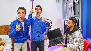 مقلب حرقت لابتوب جبس مصر الجديد ؟ مش هتصدقوا عمل اية !!