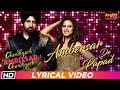 Ambersar De Papad | Lyrical Video| Gippy Grewal| Sargun M| Sunidhi C| Chandigarh Amritsar Chandigarh
