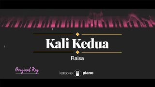 Download Kali Kedua (ORIGINAL KEY) Raisa (KARAOKE PIANO)