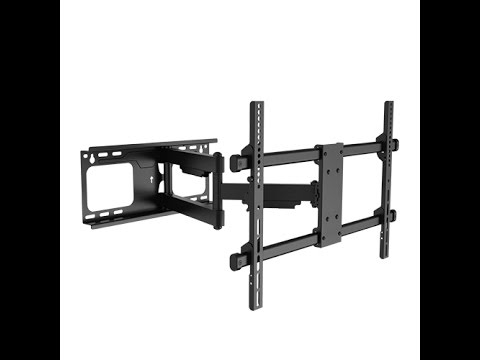 how to install a full motion tv wall mount texonic model. Black Bedroom Furniture Sets. Home Design Ideas