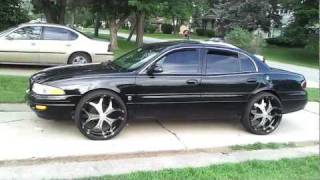 "2000 Buick LeSabre on 24""s BLACKED OUT.........."
