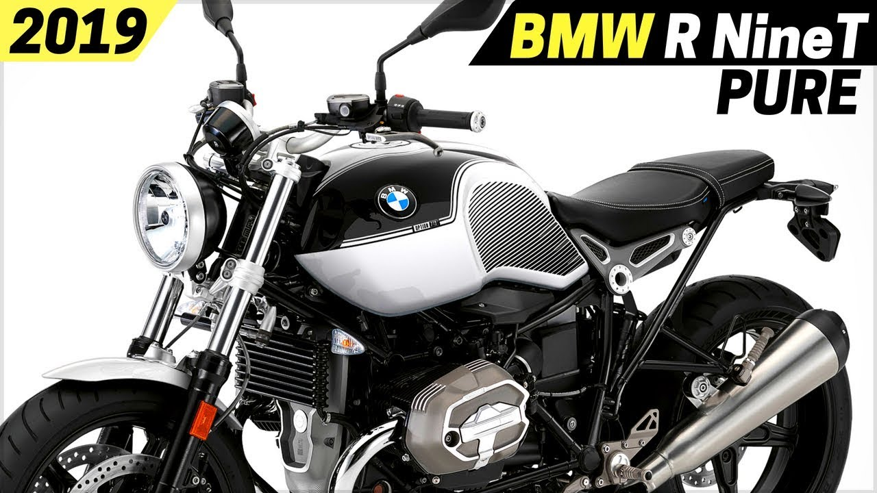 NEW 2019 BMW R NineT Pure - New Paint Schemes And Dynamic ...