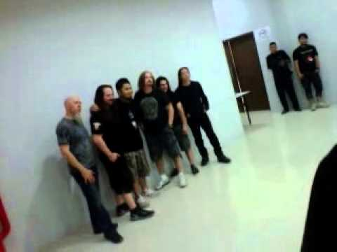 Behind the Scene, Dream Theater Live in Jakarta, 21 April 2012: The Meet & Greet