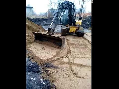 Budowa Domu Piętrowego - Prace Ziemne - Zima Nam Niedopisała -