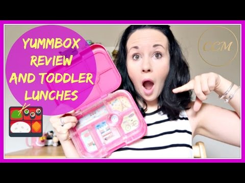 Bento Style Vegetarian Toddler Lunches // Yummbox Review