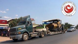 Tak wygląda jedna z najlepszych dróg w kraju - Kambodża #48