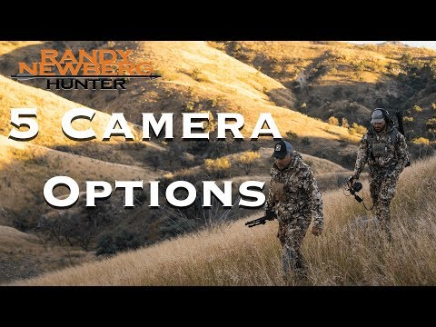 Camera Options For Filming Your Own Hunt