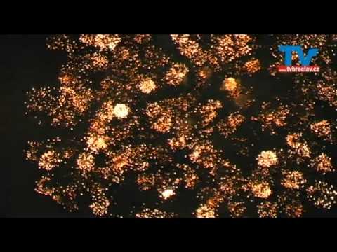 Břeclavský ohňostroj - Moravský den 27.6.2009