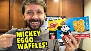 Mickey Eggo Waffles!