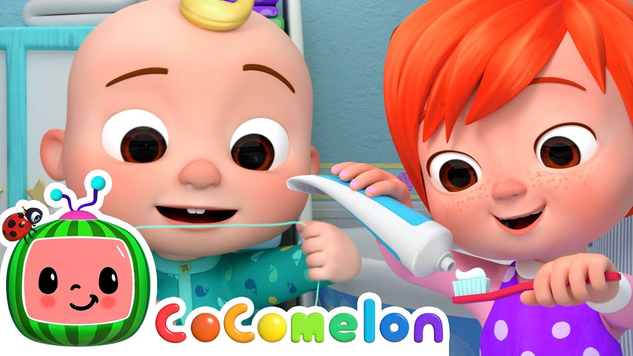 Yes Yes Brush Your Teeth! | CoComelon Nursery Rhymes & Kids Songs | Learning Videos For Toddlers