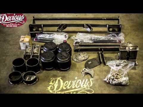 DEVIOUS CUSTOMS HOW TO INSTALL your rear lincoln air ride kit