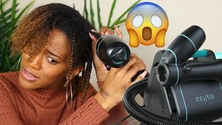 REACTING TO THE INSTANT BRAID OUT METHOD! IS THIS EVEN POSSIBLE?!