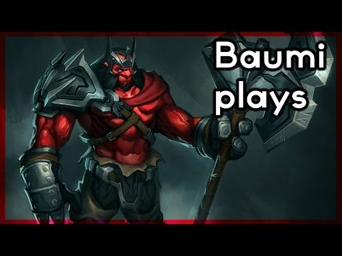 Dota 2   CREEPSKIPPING CHAOS!!   Baumi plays Axe