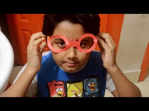 How to Make Easy Paper Sunglasses || Origami Sunglasses ||