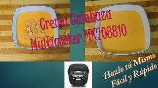 Crema de Calabaza Multicooker MK708810