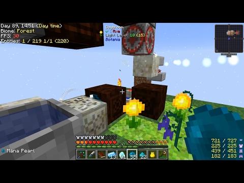 Minecraft - Project Ozone 2 #16: Blasting Through Botania