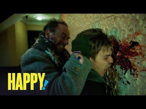 HAPPY!   Season 1 - Nick Sax's Carnage Count   SYFY