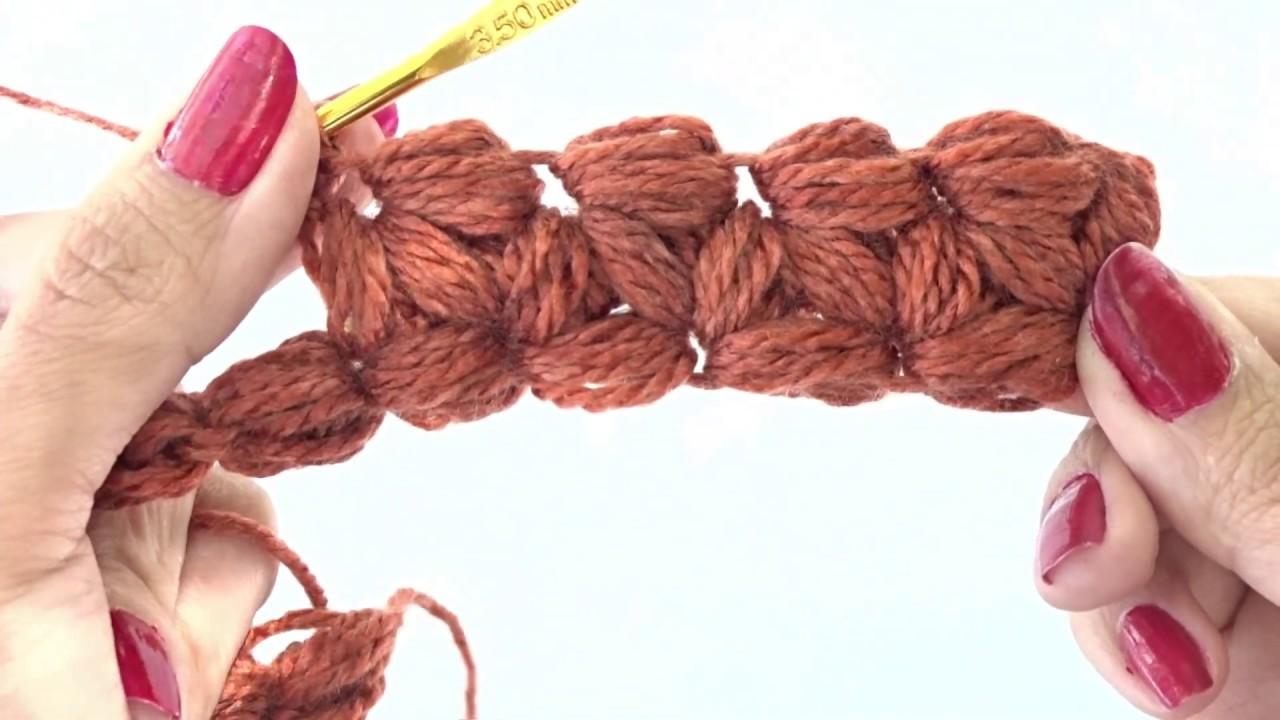 Punto Jazmín A Crochet Paso A Paso Youtube