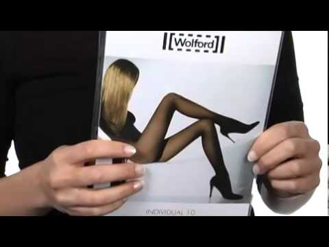8aea07f62 Wolford - Individual 10 Tights SKU   8101278 - YouTube
